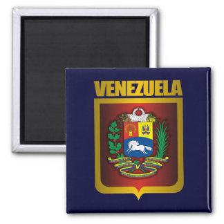 """Venezuela Gold"" 2 Inch Square Magnet"