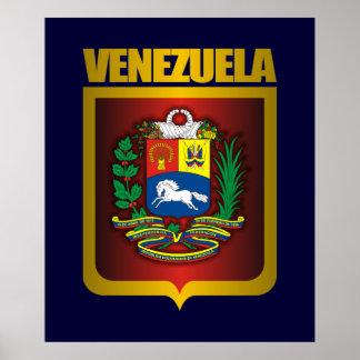"""Venezuela Gold"" Posters & Prints"
