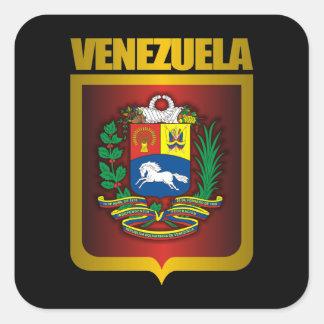 """Venezuela Gold"" Square Sticker"