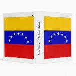 Venezuela High quality Flag Binders