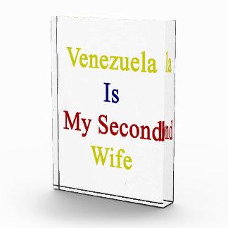 Venezuela Is My Second Wife Award