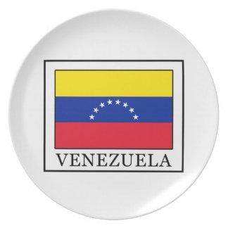 Venezuela Melamine Plate
