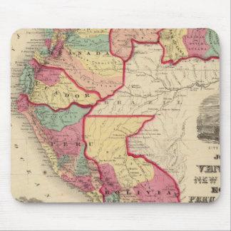 Venezuela, New Granada, and Ecuador Mouse Pad