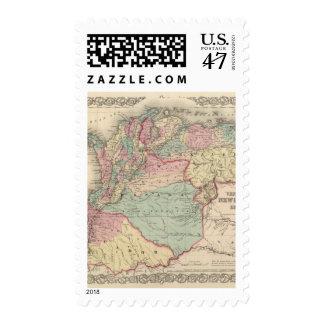 Venezuela, New Granada Colombia and Ecuador Postage Stamp