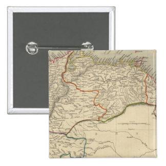 Venezuela, New Granada, Equador, and the Guayanas Pinback Button