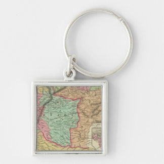 Venezuela, New Grenada & Equador Keychain