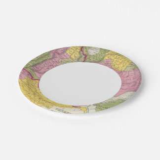 Venezuela, New Grenada & Equador Paper Plate