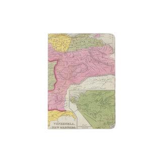 Venezuela, New Grenada & Equador Passport Holder