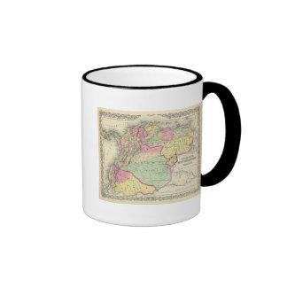 Venezuela nueva Granada y Ecuador Taza De Café