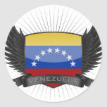 VENEZUELA PEGATINAS REDONDAS