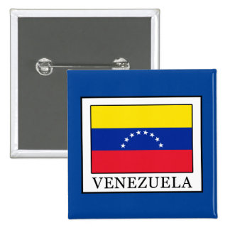 Venezuela Pin Cuadrada 5 Cm
