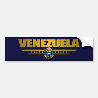 """Venezuela Pride"" Bumper Sticker"
