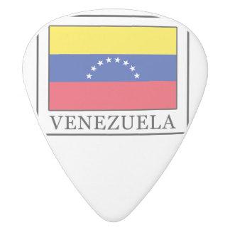 Venezuela Púa De Guitarra Delrin Blanco