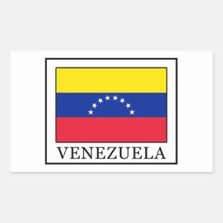 Venezuela Rectangular Sticker