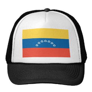 Venezuela recycle flag mesh hats