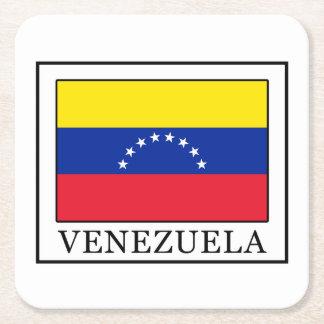 Venezuela Square Paper Coaster
