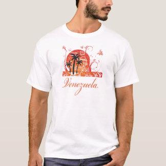 Venezuela Summer Palm Trees Destroyed T-Shirt