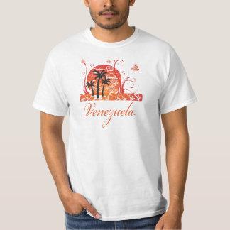 Venezuela Summer Palm Trees Value T-Shirt