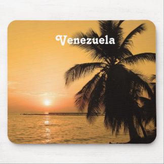 Venezuela Sunset Mouse Pads