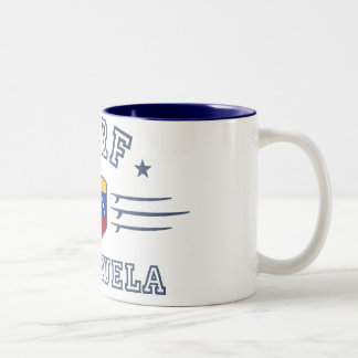 Venezuela Two-Tone Coffee Mug
