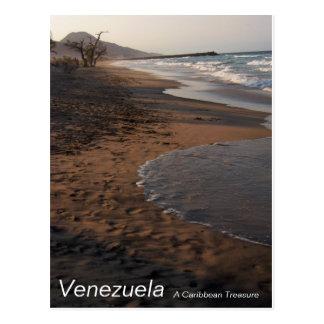 Venezuela. Un tesoro del Caribe Tarjeta Postal