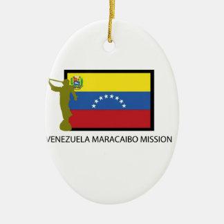 VENEZUELA VALENCIA MISSION LDS CTR CERAMIC ORNAMENT