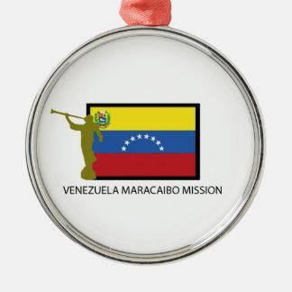 VENEZUELA VALENCIA MISSION LDS CTR METAL ORNAMENT