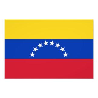 Venezuela – Venezuelan Flag Photo Print