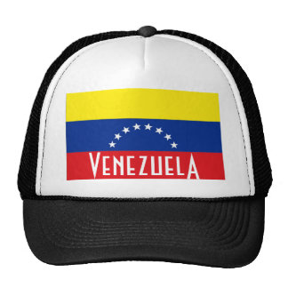 Venezuela venezuelan flag trucker meshsouvenir hat