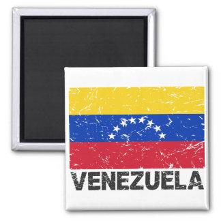 Venezuela Vintage Flag Magnet