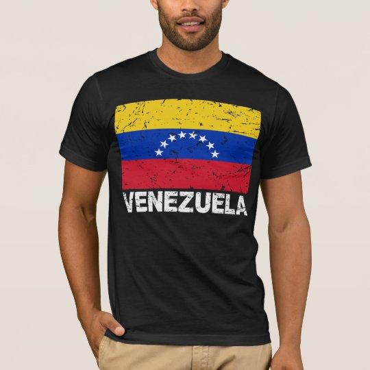 Venezuela Vintage Flag T-Shirt