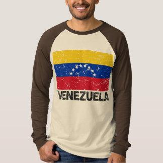 Venezuela Vintage Flag T Shirt