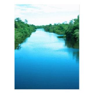 Venezuela Waterway Postcard