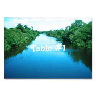 Venezuela Waterway Table Card