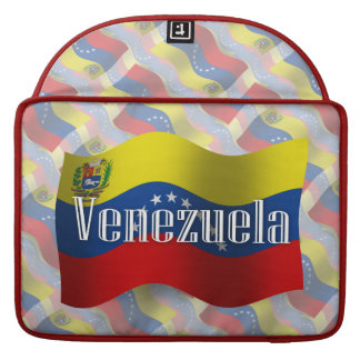 Venezuela Waving Flag MacBook Pro Sleeve
