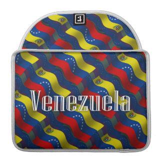 Venezuela Waving Flag Sleeves For MacBooks