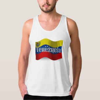 Venezuela Waving Flag Tank Top