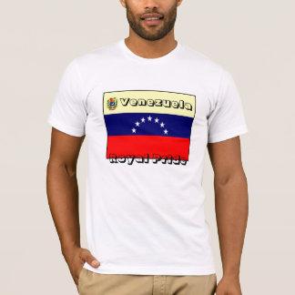 Venezuela Womens' T-shirt-royal pride T-Shirt