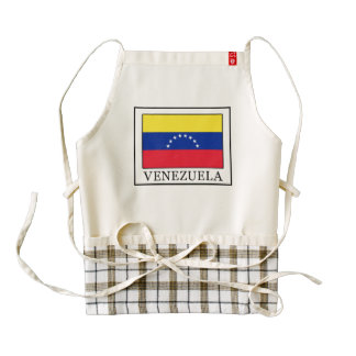Venezuela Zazzle HEART Apron
