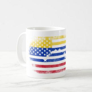 Venezuelan American Flag   Venezuela and USA Coffee Mug
