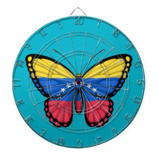 Venezuelan Butterfly Flag Dartboards
