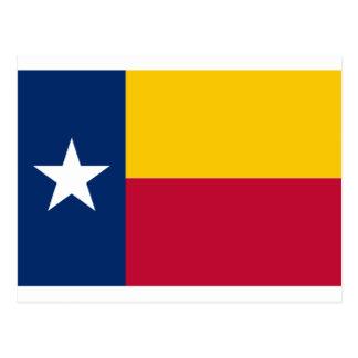 Venezuelan/Colombian/Ecuadorian Texas Flag Colors Postcard