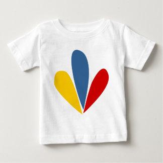 Venezuelan Flag Petals Infant T-Shirt