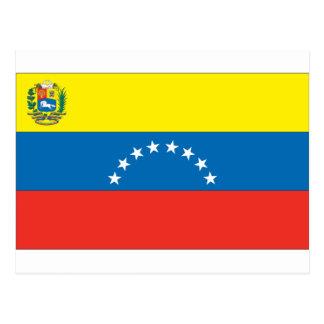 Venezuelan Flag Postcard