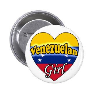 Venezuelan Girl Buttons