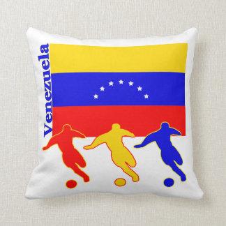 Venezuelan Soccer Players Pillow