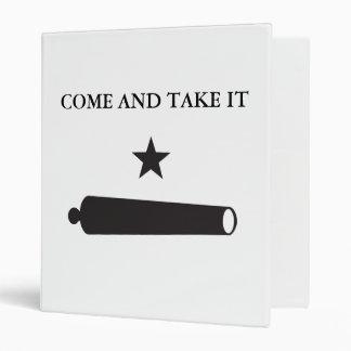 """¡VENGA TOMARLO! La bandera de Gonzales, Bratton Carpeta 1"""""""