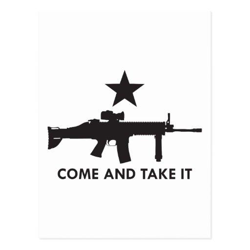 ¡Venga tomarlo! (Rifle 2) Postal