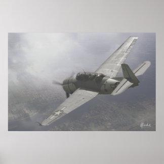 Vengador de TBM-3E Poster