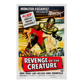 Venganza del cartel de película del vintage de la  impresiones